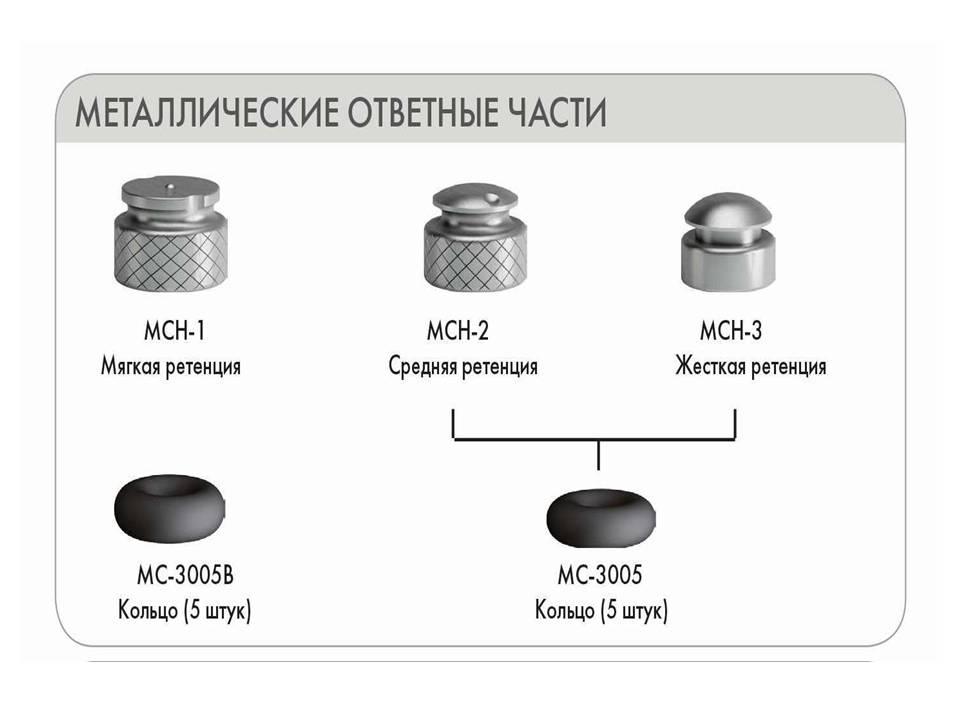 Аттачмент - силиконовый фиксатор, маленький (5 шт.)