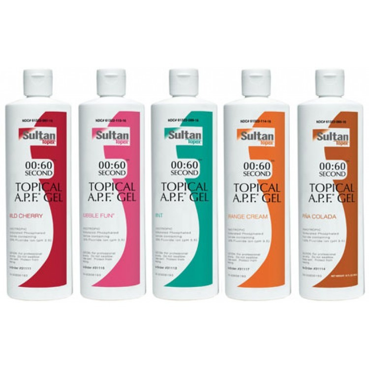 Topex (Topical) A.P.F. gel 60 second (Топикал гель АПФ 60 сек.) 498 гр. - профилактический гель.
